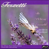 Terzetti: Trios for Flute, Viola and Harp by Bax, Debussy, Ravel and Mathias, Dubois / The Debussy Ens.