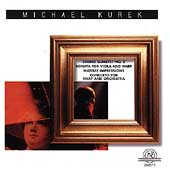 Kurek: String Quartet no 2, Sonata for Viola and Harp, etc