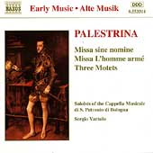 Palestrina: Missa sine nomine, etc / Vartolo