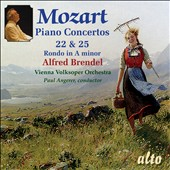 Mozart: Piano Concertos Nos. 22 and 25; Rondo No. 3 / Alfred Brendel, piano