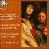 Supp&#233;: Requiem / Badun, Bonn Youth Symphony Orch