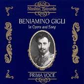 Prima Voce - Beniamino Gigli in Opera and Song