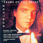 Dowland - Tears of the Muse / Taylor, Martin, Voix Humaines
