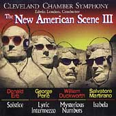 New American Scene III / London, Cleveland Chamber Symphony