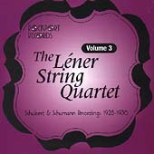 Léner String Quartet - Complete Recordings Vol 3