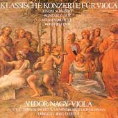 Klassische Konzerte f&#252;r Viola - J. Schubert, Rolla / Nagy