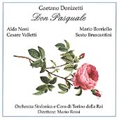 Donizetti: Don Pasquale / Rossi, Benzi, Bruscantini, et al