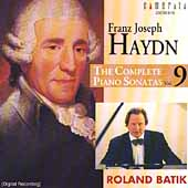 Haydn: The Complete Piano Sonatas Vol 9 / Roland Batik