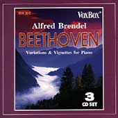 Beethoven: Variations & Vignettes for Piano / Alfred Brendel