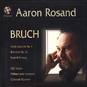 Bruch: Concerto no 1, Scottish Fantasy / Aaron Rosand, et al