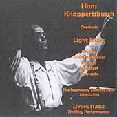 Knappertsbusch Conducts Light Music - Weber, Lanner, et al