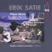 SCENE  Satie: Piano Music Vol 3 / Steffen Schleiermacher