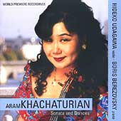 Khachaturian: Sonata and Dances / Udagawa, Berezovsky