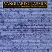 Liszt: Masterpieces for Piano Vol 1 / Darré, Brendel