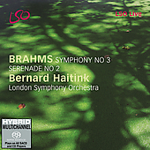 Brahms: Symphony no 3, etc / Haitink, London SO