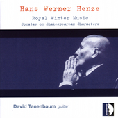 Henze: Royal Winter Music / Tanenbaum