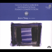 Twelfth Van Cliburn International Piano Competition / Yang