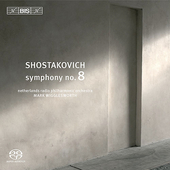 Shostakovich: Symphony no 8 / Wigglesworth, Netherlands RPO