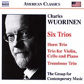 American Classics - Wuorinen: Six Trios