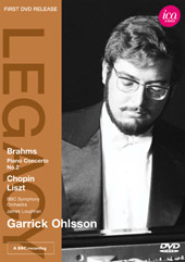 Brahms: Piano Concerto No. 2; Chopin, Liszt / Loughran/BBC SO, Ohlsson [DVD]