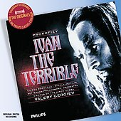 Prokofiev: Ivan the Terrible / Gergiev, Sokolova, Putilin