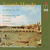 SCENE  Haydn: Symphonies no 88 & 101, etc / Fischer, et al