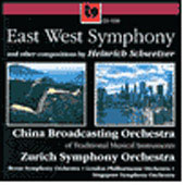 Schweizer: East West Symphony, etc /Zushan, Zurich SO, et al
