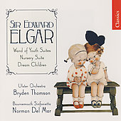 Elgar: Wand of Youth Suite, etc / Del Mar, Thomson