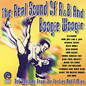 Various Artists: The Real Sound of R&B and Boogie Woogie