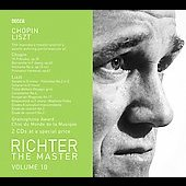 Richter The Master Vol 10 - Chopin, Liszt
