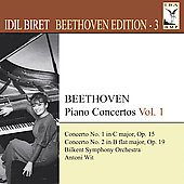 Beethoven Edition Vol 3 - Piano Concertos Vol 1 / Idil Biret, Antoni Wit, et al