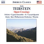 American Classics - Open Crossings - Teirstein: Kopanitza, etc / Cygnus Ensemble, Kiev PO, et al