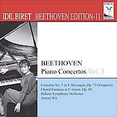 Beethoven Edition Vol 11 - Piano Concertos Vol 3 / Idil Biret