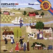 Copland: Old American Songs, 4 Motets, etc / Tilson Thomas
