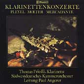 Clarinet Concertos / Angerer, Friedli