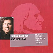 Liszt: Complete Songs 2 / Janina Baechle, Charles Spencer, piano