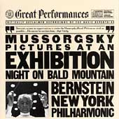 Mussorgsky: Pictures at an Exhibition, etc / Bernstein