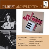 Idil Biret plays Myakovsky, Liszt & Scriabin
