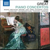 Great Piano Concertos - Mozart, Beethoven, Brahms Liszt, Chopin, Prokofiev et al. [10 CDs]