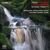 Grieg: Holberg Suite, Erotikk, Elegiac Melodies / Tognetti, Australian Chamber Orchestra