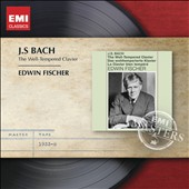 J.S. Bach: The Well-Tempered Clavier / Edwin Fischer, piano