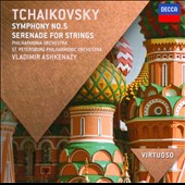Tchaikovsky: Symphony No. 5; Serenade for Strings / Ashkenazy