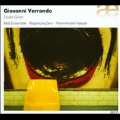 Giovanni Verrando (b.1965): Dulle Griet - music for ensemble and electronics / Mdi Ensemble; RepertorioZero
