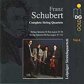 Schubert: Complete String Quartets Vol 6 / Leipzig Quartet