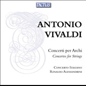 Vivaldi: Concertos for Strings RV 154; 367; 578; 124; 522 / Fabio Biondi, violin