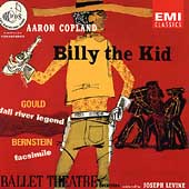 Copland: Billy the Kid;  Gould, Bernstein / Joseph Levine