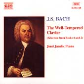 Bach: Well-Tempered Clavier (Selections) / Jénö Jandó