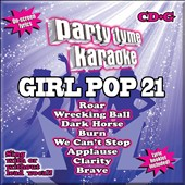 Karaoke: Party Tyme Karaoke: Girl Pop, Vol. 21