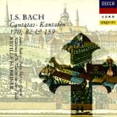 Bach: Cantatas 170, 82, 159 / Marriner, Baker, Shirley-Quirk