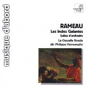 Rameau: Les Indes Galantes Suites / Herreweghe, et al